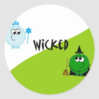 Wicked Weeble Sticker