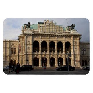 Wiener Staatsoper Rectangular Photo Magnet