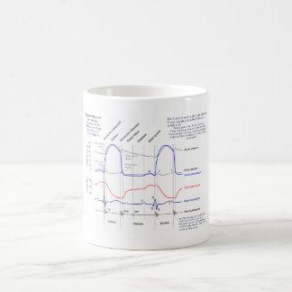 Wiggers Diagram Basic White Mug