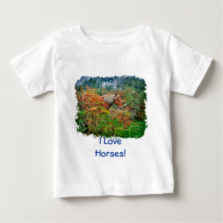 Wild New Forest Pony Horse-lover's Gift Tee Shirt