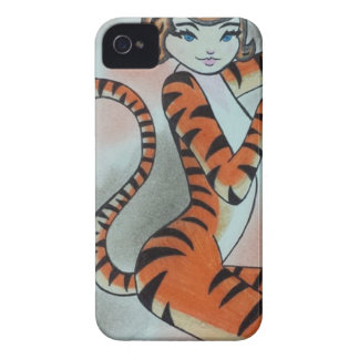 Wild One Lady Tiger Original iPhone 4 Covers