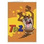 Wild TAZ™ Greeting Card