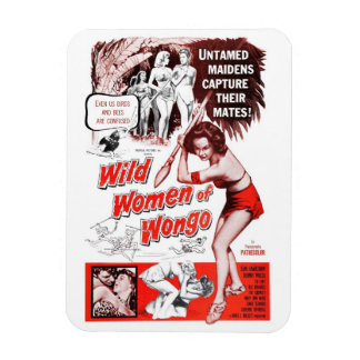 """Wild Women of Wongo"" Magnet"