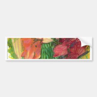 Wildflower Love Bumper Sticker