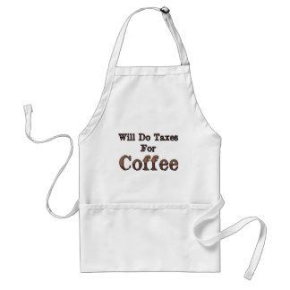 Will Do Taxes For Coffee Standard Apron