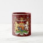 Will+Kate Memorabilia Mugs, customisable colour! Two-Tone Mug