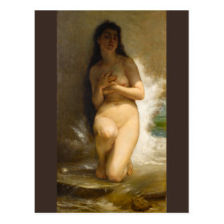 William-Adolphe Bouguereau The Pearl Postcard