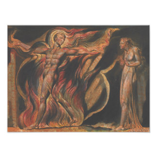 William Blake - Jerusalem, Plate 26, Such Visions Photo