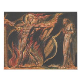 William Blake - Jerusalem, Plate 26, Such Visions Photograph