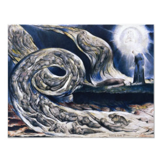 William Blake The Lovers Whirlwind Inivtations 11 Cm X 14 Cm Invitation Card