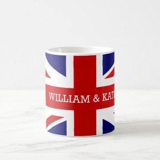 William & Catherine   The Royal Wedding Basic White Mug