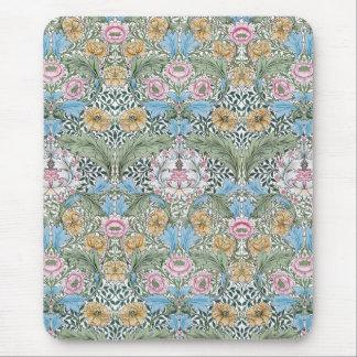 William Morris Myrtle Floral Chintz Pattern Mouse Pad