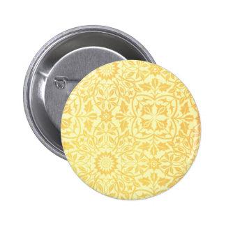 William Morris St. James Place Ceiling Paper 6 Cm Round Badge