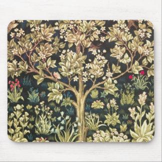 William Morris Tree Of Life Vintage Pre-Raphaelite Mouse Pad