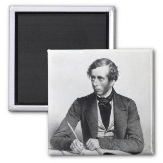 William Thompson  1849 Square Magnet