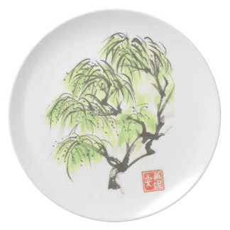 Willow Tree Art Plate