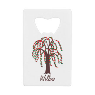 Willow Tree with Hearts - Customizable