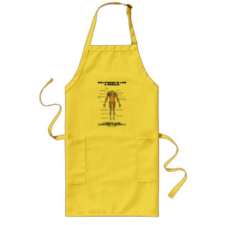 Willpower Is Like A Muscle Needs To Be Exercised Long Apron