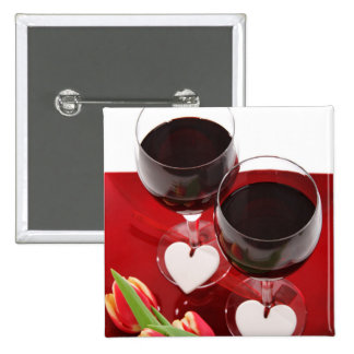 Wine Lovers' button
