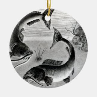 Winning art by  N. Bui - Grade 10 Round Ceramic Decoration