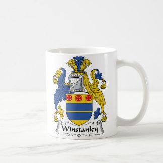 Winstanley Family Crest Basic White Mug