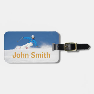 Winter Holidays Luggage Tag