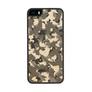 Winter Ice Camo Wood iPhone SE/5/5s Case
