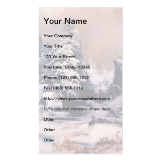 Winter in the Rockies - 1867 Pack Of Standard Business Cards
