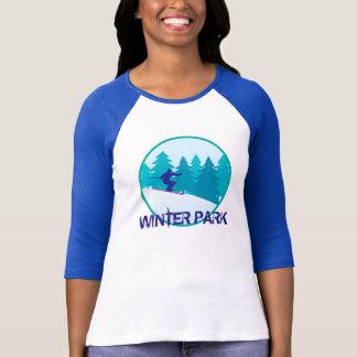 Winter Park Skier T Shirt