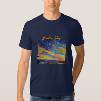 Winter Sky T Shirts