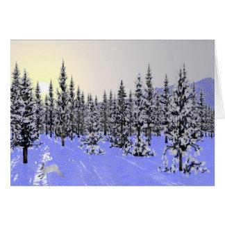 Winter Solstice Greeting Card