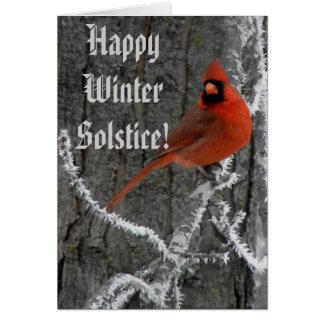 Winter Solstice Greetings Greeting Card