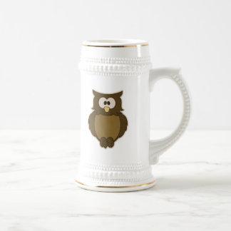 Wise Owl Beer Steins