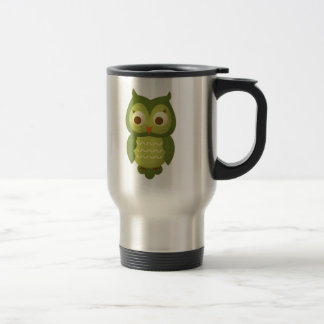 Wise Owl Stainless Steel Travel Mug