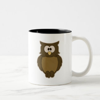 Wise Owl Two-Tone Mug