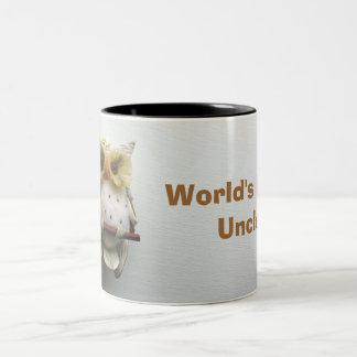 Wise Owl World's Best Uncle Mug