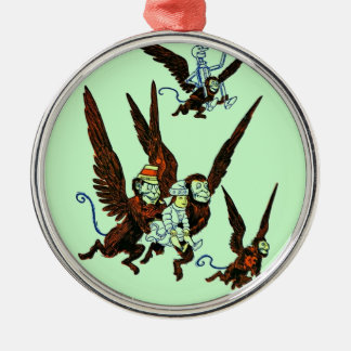 Wizard of Oz Silver-Colored Round Decoration