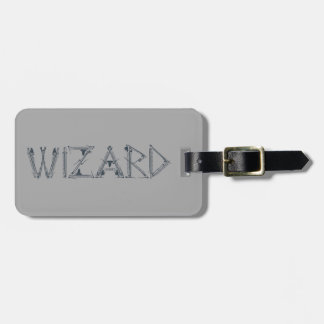 Wizard Weapon Collage Tags For Bags