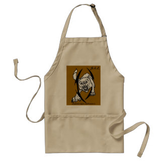 Wolf bites standard apron