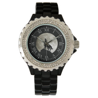 Wolf Howling Watches