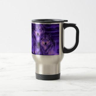 Wolf Pack Stainless Steel Travel Mug