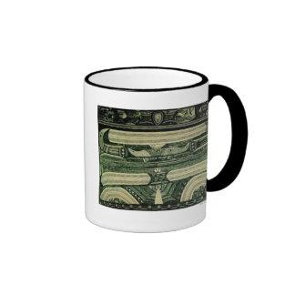 Wölfli 'Petrol' Fine Art Ringer Mug