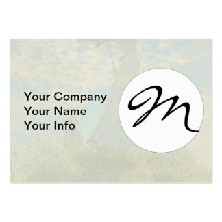 Woman with a Parasol Claude Monet Impressionist Pack Of Chubby Business Cards