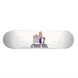 Woman's Work Is Never Done Skateboard Decks