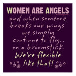 Women are Angels Poster