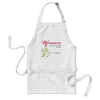 women seeking to be equal standard apron