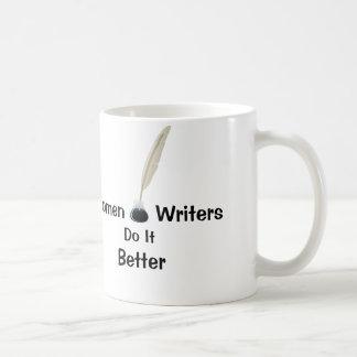 Women Writers Do It Better Basic White Mug