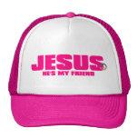 Womens He''s My Friend Hat