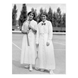 Women's Tennis Champions, 1913 Postcard