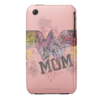 Wonder Mom Mixed Media iPhone 3 Case-Mate Case